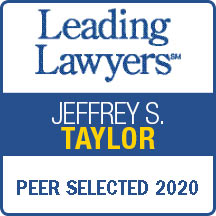 Leading Lawyers Jeffrey S. Taylor Peer Selected 2020