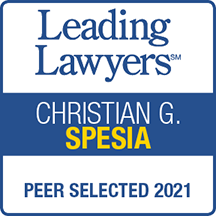 Leading Lawyers Christian G. Spesia Peer Selected 2021