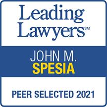 Leading Lawyers John M. Spesia Peer Selected 2021