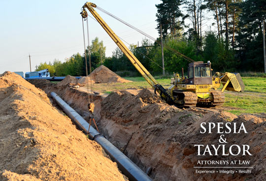 Pipeline Construction, An energy company, represented by Spesia & Taylor